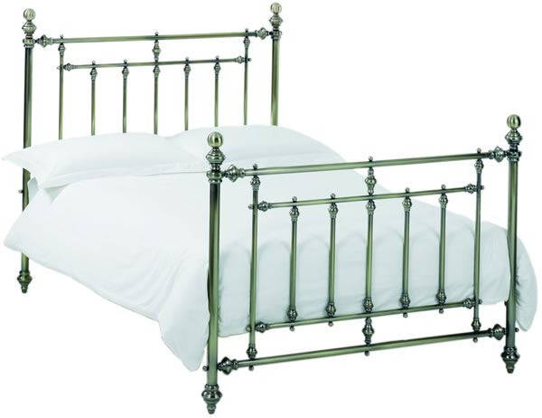 Bentley Imperial Antique Nickel Bedstead, King