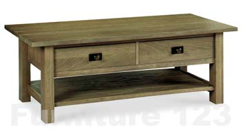 Callista Smoky Oak Coffee Table