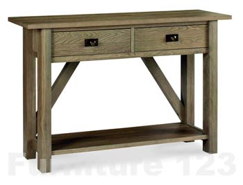 Callista Smoky Oak Console Table