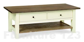 Callista Two Tone Coffee Table