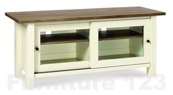 Callista Two Tone Entertainment Unit