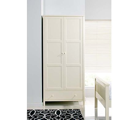 Clearance - Atlantis Pearl Oak Two Door Wardrobe
