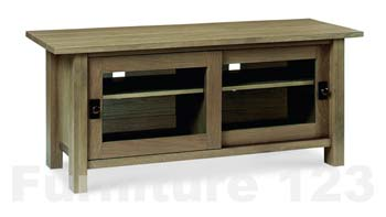 Clearance - Coniston Smoky Oak Entertainment Unit