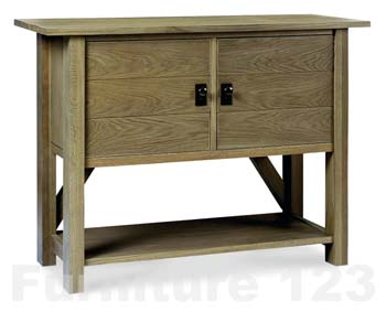 Clearance - Coniston Smoky Oak Small Sideboard