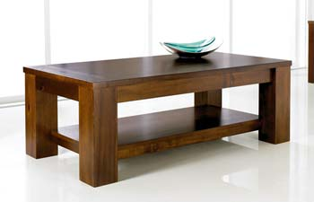 Clearance - Cuba Acacia Coffee Table