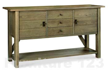 Coniston Smoky Oak Large Sideboard