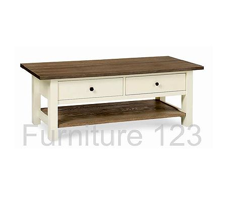 Coniston Two Tone Coffee Table - WHILE STOCKS