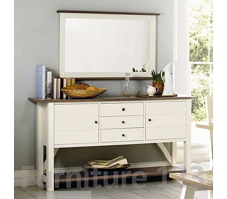 Coniston Two Tone Large Sideboard - WHILE STOCKS