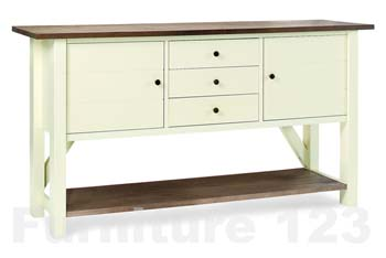 Coniston Two Tone Large Sideboard