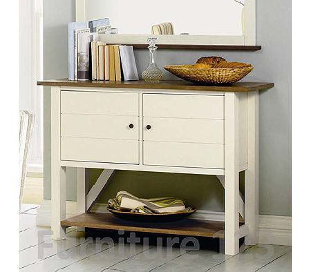 Coniston Two Tone Small Sideboard - WHILE STOCKS