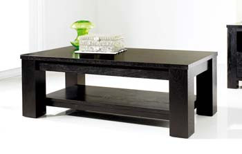 Cuba Black Coffee Table