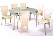 Designs Eclipse Dining set with 4 chairs