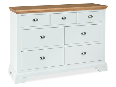 Hampstead 3+4 Drawer Chest Small Single (2