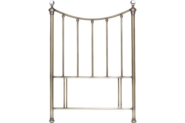 Hana Brass Headboard Single 90cm