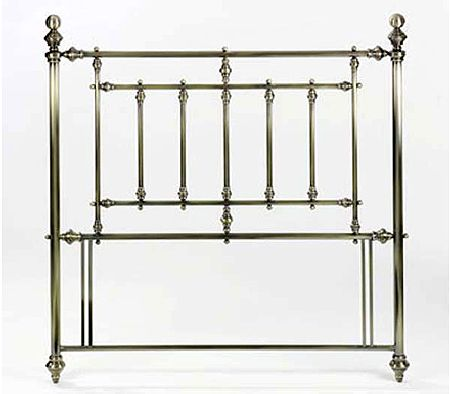 Imperial Headboard in Antique Nickel