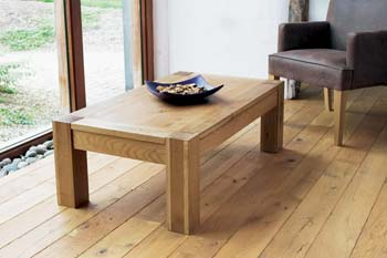 Lyon Oak Rectangular Coffee Table