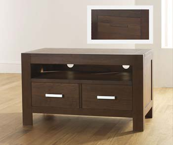 Lyon Walnut Entertainment Unit
