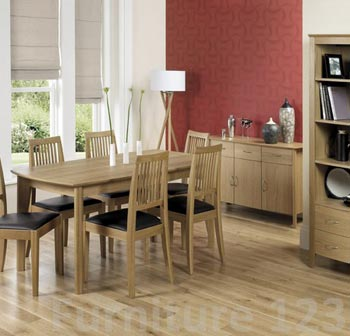 Modena Extending Rectangular Dining Table