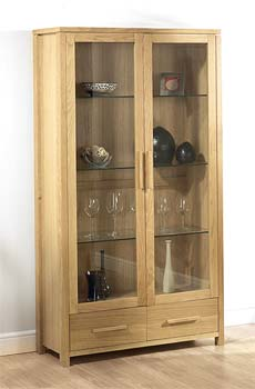 Montana Double Display Cabinet