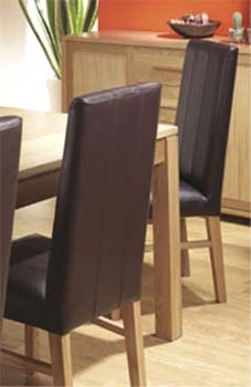 Montana Leather Dining Chairs (pair)