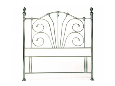 Rebecca Nickel Double (4 6`) Headboard