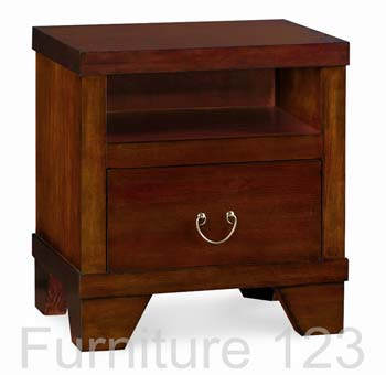 Samba Mango 1 Drawer Bedside Chest