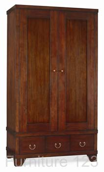 Samba Mango 2 Door Wardrobe - WHILE STOCKS LAST!