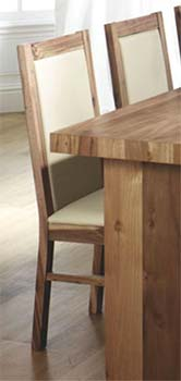 Tetro Dining Chairs (pair) in Acacia