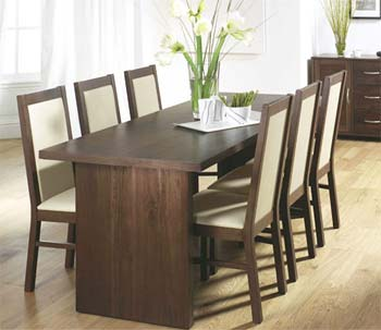 Tetro Dining Set in Walnut