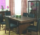Designs Tokyo Dining Set with 6 Brown
