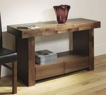 Tokyo Walnut Console Table
