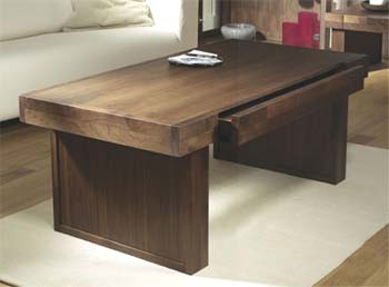 Tokyo Walnut Rectangular Coffee Table