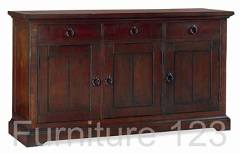 Tomoka Dark Large Sideboard