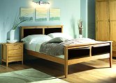 Designs Tuscany 4ft6 Framed Leather Bed