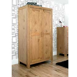 Lyon Oak 2 Door Wardrobe