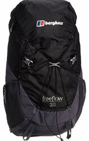 Freeflow II 20 Backpack - Black/Carbon, One Size