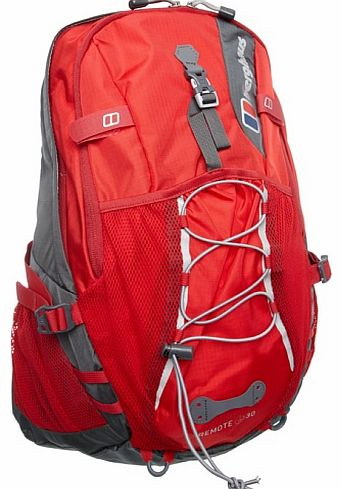 Remote Backpack - Red/Chilli Pepper, 30 lt