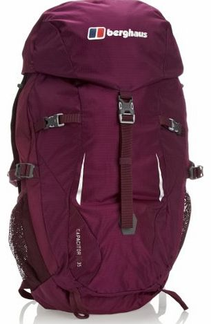 Womens Capacitor 35 Ruck Sack - Cherry Ripe/Cerise Noire, One Size