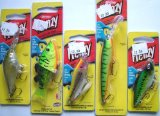 set of 5 berkley frenzy fishing lures