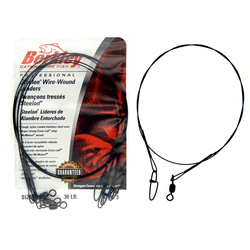 Wire Wound Steelon Leaders - 30lb - 12