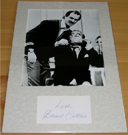 CRIBBINS MOUNTED SIGNATURE (FAWLTY