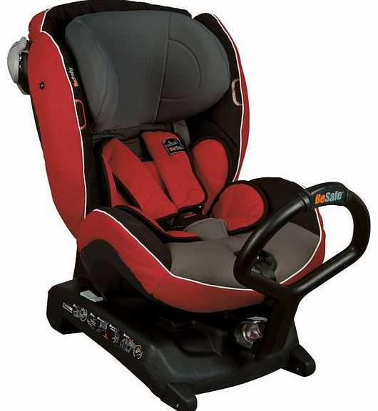 Izi Combi X3 Isofix Red Grey Car Seat 2014