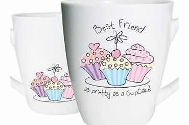 Friend Trio Cupcake Mug