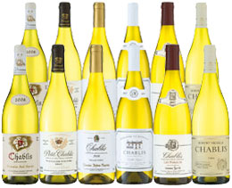 in 25 years Chablis Showcase - Mixed case