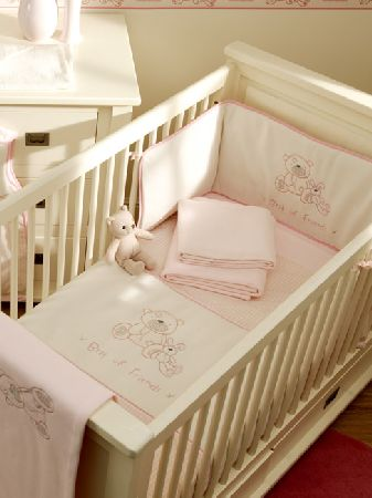 Pink Cot and Cot Bed Nursery Bedding Bale