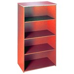 Selling Budget 144cm High Bookcase-Cherry