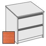 Selling Budget Desk End 2 Drawer Side Filing Cabinet For Return of Ergonomic Desk-Cherry