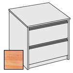 Selling Budget Desk End 2 Drawer Side Filing Cabinet For Return of Ergonomic Desk-Limed Oak