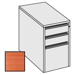Selling Budget Desk End 3 Drawer Pedestal For Return of Ergonomic Desk-Cherry