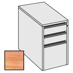 Selling Budget Desk End 3 Drawer Pedestal For Return of Ergonomic Desk-Limed Oak
